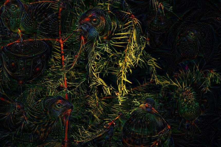 google deep dream photography project