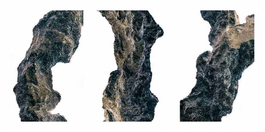 conceptual photography triptych